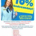 RKDSZ tagoknak márciusi kedvezmény a Praktier áruházban.