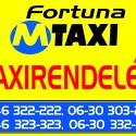 Taxirendelés a Miskolc Fortuna Taxi
